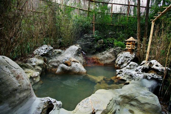重庆威特卡丝东温泉大酒店位于巴南区东温泉风景区内,临近东泉闻名的